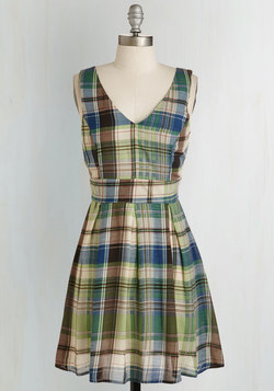 Color Me Plaid Dress