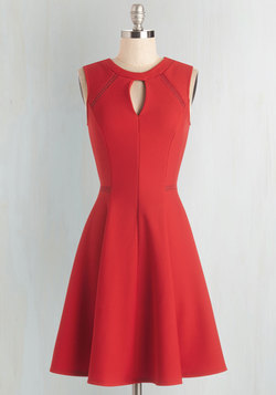 Moxie Must-Have Dress in Red