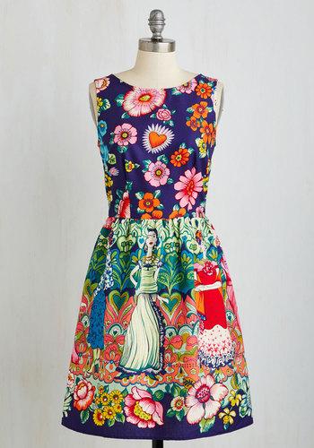 Frida Your Mind Dress