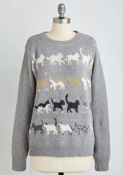 Meow That's More Like It! Sweater