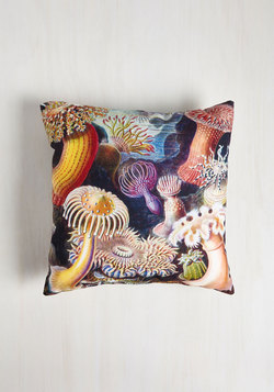 Friends and Anemones Pillow