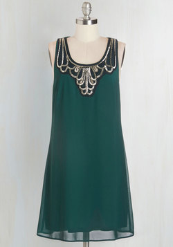 Idea on Arrival Dress in Teal