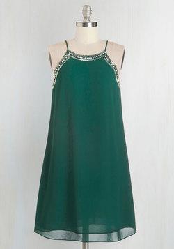 Gallery Curator Dress in Jade