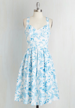 Nothin' But Blue Skies Dress