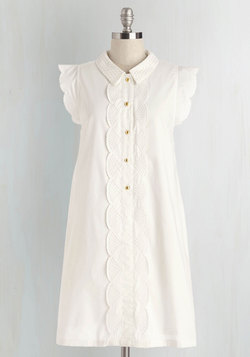 Letter Than Ever Dress in White
