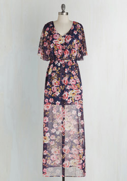 On Floral Grounds Dress