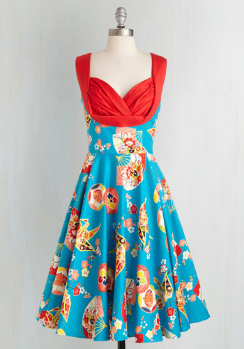 Isle Be There Dress in Orchard