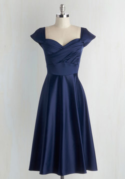 Pine All Mine Dress in Midnight