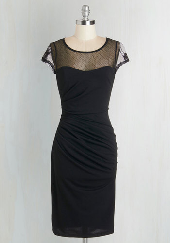 Fete for a Queen Dress in Black $59.99 AT vintagedancer.com