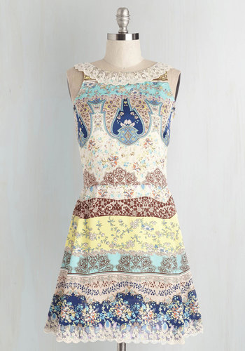 Spring Quartet Dress