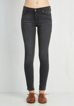 Solid Sense of Style Jeans in Grey