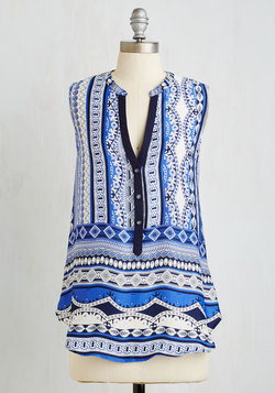 Pattern Pioneering Top