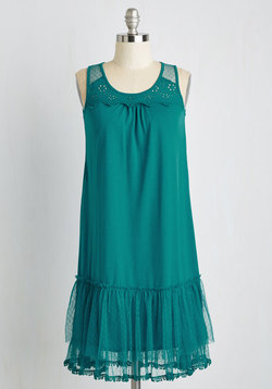 One Swish, Two Swish Dress