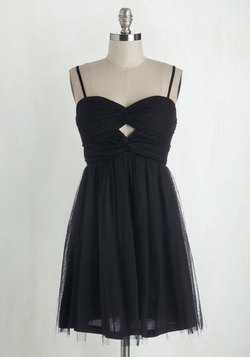Just the Way You Noir Dress