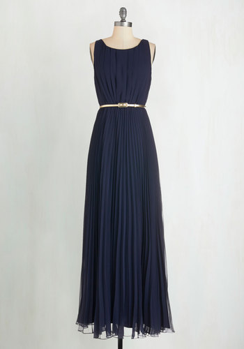 Dancing in Romance Dress in Navy