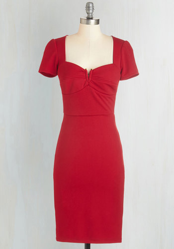 All for Stun Dress in Red