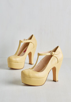 Birthday Bashful Heel in Lemon Meringue