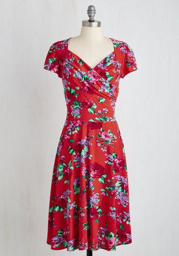 Itinerary Adjustments Dress $139.99 AT vintagedancer.com