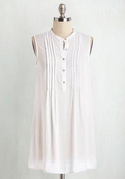 Vacay Adventure Tunic in White