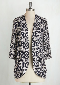 Ikat Believe It Cardigan
