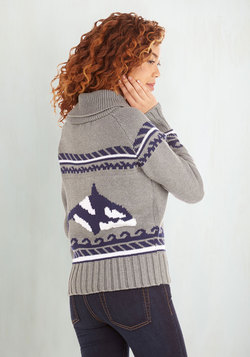 One Way Orca 'Nother Cardigan