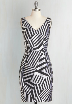 Abstract Allure Dress