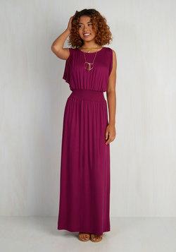 Strike a Repose Dress in Berry