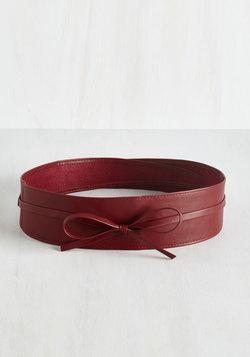 Sash Samba Belt in Red