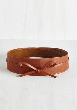 Sash Samba Belt in Cognac