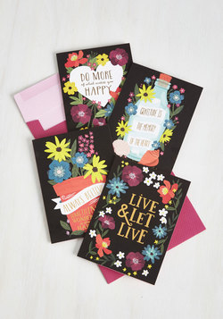 Stay By My Bright Side Notecard Set