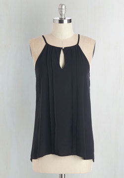 Style a Minute Top in Black