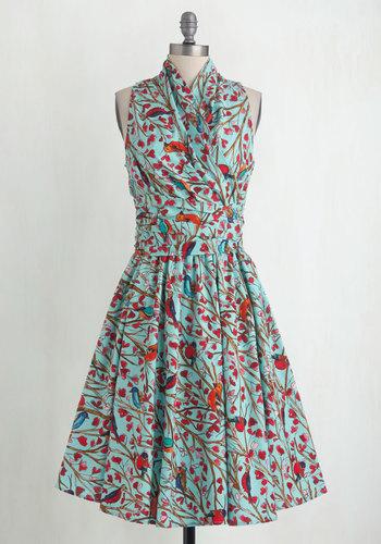 Front Perch Swing Dress $114.99 AT vintagedancer.com