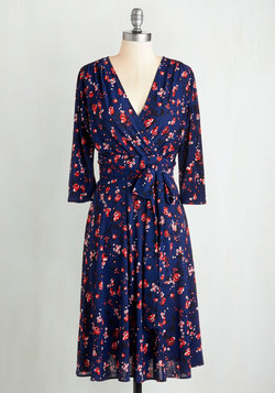 Station Mate Dress in Roses