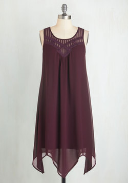 Endless Entertainment Dress in Plum