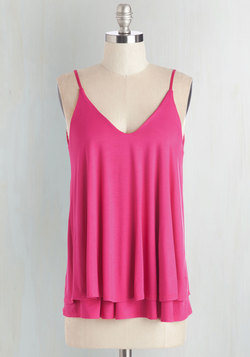 Let's Tier it for the Poise Top in Magenta