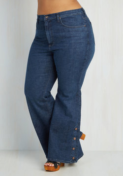 Faster and Fastener Jeans in Plus Size