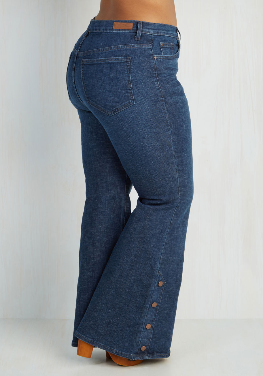 Super Flare Jeans Plus Size - Jeans Am