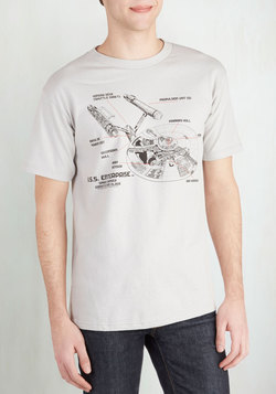 Saucer Section Men's Tee