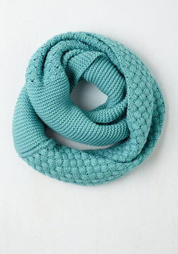 Chill Out on the Town Scarf in Teal