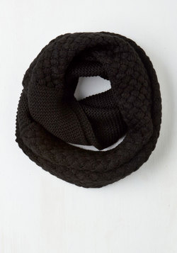 Chill Out on the Town Scarf in Black