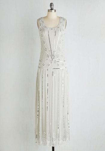 Winsome Wonderment Dress in Frost $239.99 AT vintagedancer.com