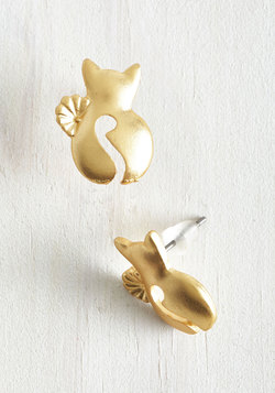 Show and Tail Earrings