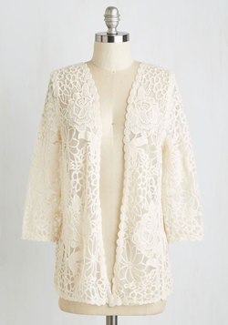 Graced by Lace Cardigan