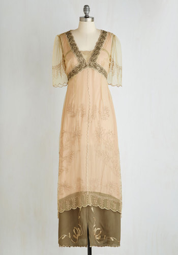 Walking on Era Dress in Sage $199.99 AT vintagedancer.com