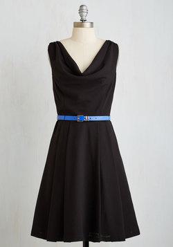 Computer Tutor Dress in Black
