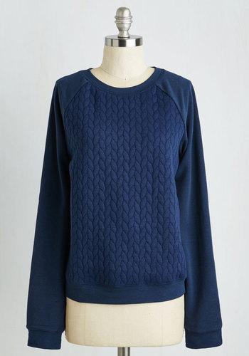 Plait and Simple Sweatshirt