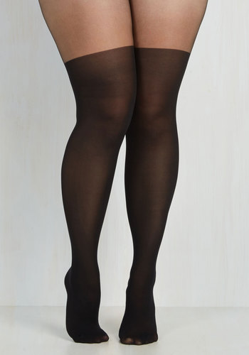Smart Styling Tights in Plus Size $14.99 AT vintagedancer.com