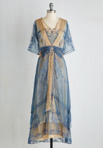 My Side of the Storybook Dress $249.99 AT vintagedancer.com