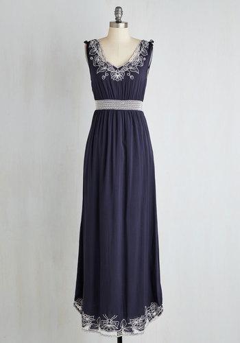 Up the Garden Path Dress in Navy $79.99 AT vintagedancer.com