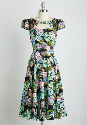 Born to be Blissful Dress $89.99 AT vintagedancer.com